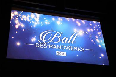Ball des Handwerks 2018
